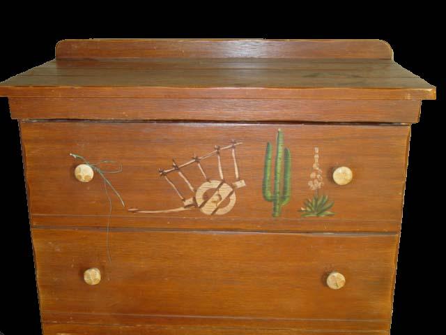 Monterey Style Dresser 4 Drawer 2