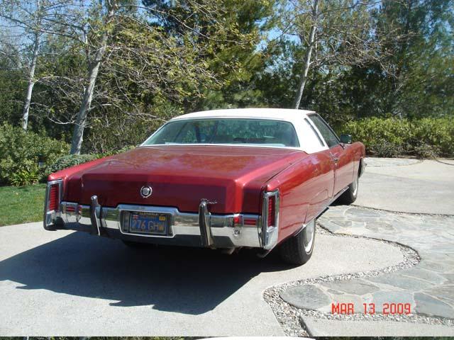 1972 Cadillac Eldorado Bs