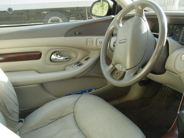 1998 lincoln continental mark viii interior drivers
