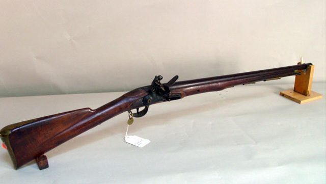 East India Co Flintlock Carbine Dated 1810 3