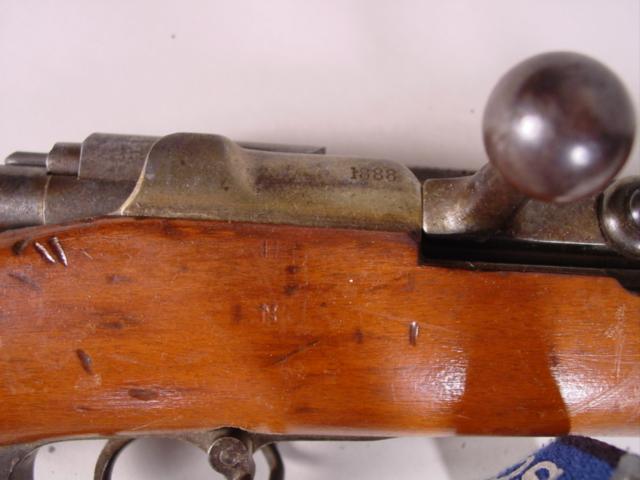 German Mauser 1888 cu
