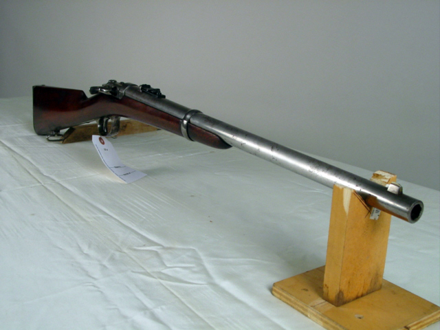 Prototype swing breach Spencer carbine  52 cal USpat  Feb 4