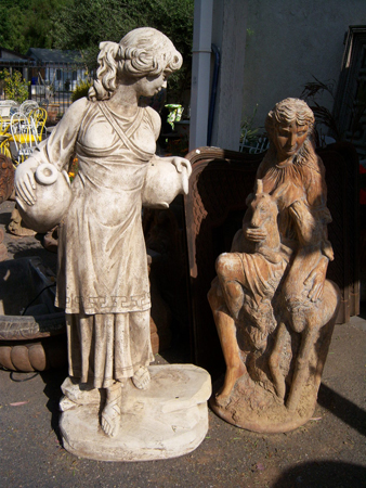 Life Size Patio Statues