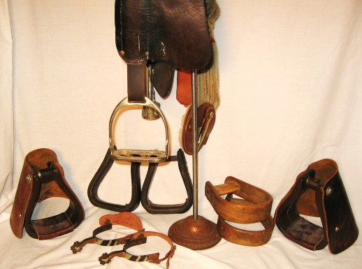 Antique U S  Cavalry McClelland saddle used by well known