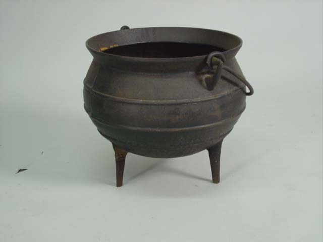 cast iron caldron